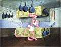 Animation Art:Production Cel, Pink Panther Animation Production Cel Original Art(DePatie-Freleng, undated)....