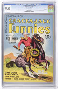 Golden Age (1938-1955):Western, Crackajack Funnies #9 File Copy (Dell, 1939) CGC VF/NM 9.0 Off-white pages....