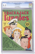 Golden Age (1938-1955):Cartoon Character, Crackajack Funnies #3 (Dell, 1938) CGC VF+ 8.5 Off-white to whitepages....
