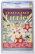 Golden Age (1938-1955):Miscellaneous, Crackajack Funnies #2 File Copy (Dell, 1938) CGC NM- 9.2 Off-white pages....