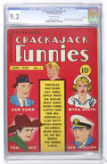Golden Age (1938-1955):Humor, Crackajack Funnies #1 File Copy (Dell, 1938) CGC NM- 9.2 Off-white pages....