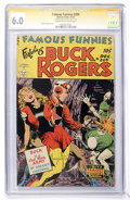Golden Age (1938-1955):Science Fiction, Famous Funnies #209 Signature Series (Eastern Color, 1953) CGC FN6.0 Cream to off-white pages....
