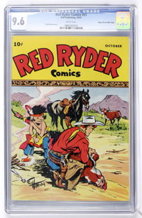 Red Ryder Comics #51 Mile High pedigree (Dell, 1947) CGC NM+ 9.6 White pages