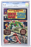 Silver Age (1956-1969):Superhero, Tales of Suspense #62 (Marvel, 1965) CGC NM 9.4 Off-white pages....