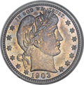 Barber Quarters, 1903 25C MS66 NGC....