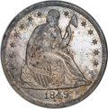 Proof Seated Dollars, 1849 $1 PR65 NGC....