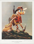 "Memorabilia:Disney, Carl Barks Uncle Scrooge ""Always Another Rainbow"" Limited Edition Sculpture, Miniature Lithograph, and Booklet, 24... (Total: 3 Items)"