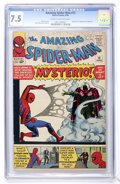 Silver Age (1956-1969):Superhero, The Amazing Spider-Man #13 (Marvel, 1964) CGC VF- 7.5 Cream to off-white pages....