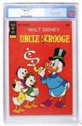 Bronze Age (1970-1979):Cartoon Character, Uncle Scrooge #103 (Gold Key, 1973) CGC NM+ 9.6 White pages....