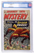 Silver Age (1956-1969):Mystery, Journey Into Mystery #73 (Marvel, 1961) CGC VF 8.0 Off-whitepages....
