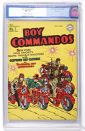 Golden Age (1938-1955):War, Boy Commandos #7 Big Apple pedigree (DC, 1944) CGC NM+ 9.6 Cream to off-white pages....