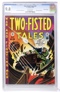 Golden Age (1938-1955):War, Two-Fisted Tales #27 Gaines File pedigree 3/10 (EC, 1952) CGC NM/MT9.8 Off-white pages....