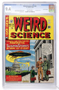 Golden Age (1938-1955):Science Fiction, Weird Science #13 (#2) Gaines File pedigree (EC, 1950) CGC NM 9.4 Off-white pages....