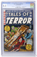 Golden Age (1938-1955):Horror, Tales of Terror Annual #3 (EC, 1953) CGC VF+ 8.5 Cream to off-whitepages....