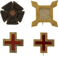 Military & Patriotic:Civil War, Nice Corps Badge Grouping.... (Total: 4 Items)