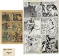 Original Comic Art:Panel Pages, Neal Adams and Tom Palmer The Avengers #96 page 18Original Art (Marvel, 1972)....