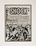 Original Comic Art:Covers, Wally Wood Shock SuspenStories #2 Cover Original Art (EC,1952)....