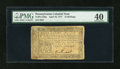 Colonial Notes:Pennsylvania, Pennsylvania April 10, 1777 12s PMG Extremely Fine 40....