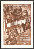 """Movie Posters:Documentary, The Cinematographer (Paramount, 1950). One Sheet (27"""" X 41""""). Documentary. Starring (in archival footage) Bing Crosby , Bob ..."""