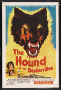 "Movie Posters:Crime, The Hound of the Baskervilles (United Artists, 1959). One Sheet(27"" X 41""). Crime. Starring Peter Cushing, Andre Morell, Ch..."
