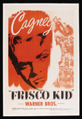 "Movie Posters:Adventure, Frisco Kid (Warner Brothers, R-1942). One Sheet (27"" X 41"").Adventure. Starring James Cagney, Margaret Lindsay, Ricardo Cor..."