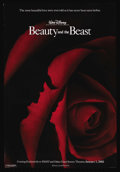 "Movie Posters:Animated, Beauty and the Beast (Buena Vista, R-2002). One Sheet (27"" X 40"")Double Sided. Animated. Starring Paige O'Hara, Robby Benso..."