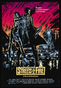 """Movie Posters:Action, Streets of Fire (Universal, 1984). One Sheet (27"""" X 41""""). Action.Starring Michael Pare, Diane Lane, Rick Moranis, Amy Madig..."""