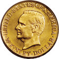 Commemorative Gold: , 1917 G$1 McKinley MS65 PCGS. The 1917 is more difficult than the1916-dated issue, and considerably higher-priced in all gr...