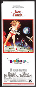 "Movie Posters:Science Fiction, Barbarella (Paramount, 1968). Insert (14"" X 36""). Science Fiction.Starring Jane Fonda, John Phillip Law, Anita Pallenberg, ..."