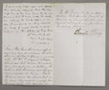 "Autographs:Military Figures, Braxton Bragg Autograph Note Signed ""Braxton Bragg"". 2½pages with docketing on verso, 5"" x 8"", Mobile, July 26, 1862, w..."