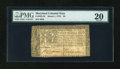 Colonial Notes:Maryland, Maryland March 1, 1770 $8 PMG Very Fine 20....