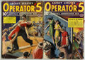 Pulps:Detective, Operator #5 Group (Popular, 1938) Condition: Average GD/VG....(Total: 2 Items)