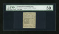 Colonial Notes:Connecticut, Connecticut October 11, 1777 7d PMG About Uncirculated 50....
