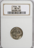 Buffalo Nickels: , 1918 5C MS64 NGC. NGC Census: (198/74). PCGS Population (350/214).Mintage: 32,086,314. Numismedia Wsl. Price for NGC/PCGS ...