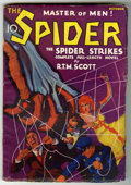 Pulps:Detective, The Spider - October 1933 (#1) (Popular, 1933) Condition: VG/FN....
