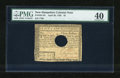 Colonial Notes:New Hampshire, New Hampshire April 29, 1780 $3 PMG Extremely Fine 40....
