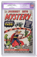 Silver Age (1956-1969):Superhero, Journey Into Mystery #83 (Marvel, 1962) CGC Apparent NM+ 9.6 Slight(P) White pages....