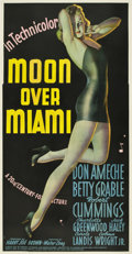 "Movie Posters:Musical, Moon Over Miami (20th Century Fox, 1941). Three Sheet (41"" X81"")...."