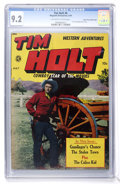 Golden Age (1938-1955):Western, Tim Holt #6 Mile High pedigree (Magazine Enterprises, 1949) CGC NM-9.2 Off-white to white pages....