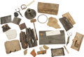 Political:Presidential Relics, Miscellaneous Lincoln Wood and Metal Relics. A large group of interesting items, consisting of: an irregular section of wood... (Total: 11 Items)