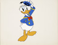 Animation Art:Production Cel, Donald Duck Hand-Painted Color Model Cel Original Art (Disney,1998)....