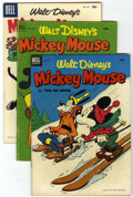 Golden Age (1938-1955):Cartoon Character, Mickey Mouse Related Group (Dell, 1951-56) Condition: AverageVG+.... (Total: 11 Comic Books)