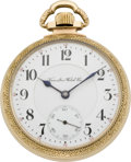 Timepieces:Pocket (pre 1900) , Hamilton Grade 970, 21 Jewel Watch, circa 1899. ...