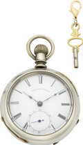 Timepieces:Pocket (pre 1900) , Waltham Model 1857 P.S. Bartlett, circa 1866. ...