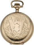 Timepieces:Pocket (post 1900), Waltham Men's Gold Filled Hunters Case, circa 1902. ...