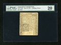 Colonial Notes:Connecticut, Connecticut June 19, 1776 1s6d PMG Very Fine 20....