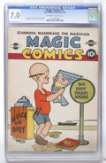 Golden Age (1938-1955):Humor, Magic Comics #1 (David McKay Publications, 1939) CGC FN/VF 7.0 Off-white to white pages. ...
