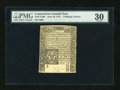 Colonial Notes:Connecticut, Connecticut June 19, 1776 1s/6d PMG Very Fine 30....