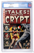 Golden Age (1938-1955):Horror, Tales From the Crypt #41 Gaines File pedigree 1/12 (EC, 1954) CGCNM 9.4 Off-white to white pages. ...