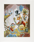 Memorabilia:Disney, Carl Barks First National Bank of Cibola Lithograph Print Progressive Proof Set (Another Rainbow, 1987).... (Total: 19 Items)
